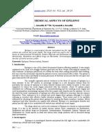 SOCIO - CHEMICAL ASPECTS OF EPILEPSY