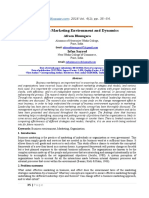 Business Marketing Environment and Dynamics