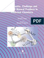 Opportunity, challenge and Scope of Natural Products in Medicinal Chemistry