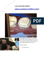 How to Fix a Tooth With CAD