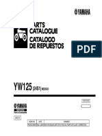 Manual de Partes YW125 Mexico