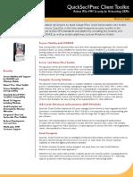 SafeNet Product Brief QuickSec Toolkit Client