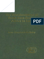 Anne Fitzpatrick-McKinley The Transformation of Torah from Scribal Advice to Law JSOT Supplement Series  1999.pdf