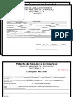 Patente 2. Ya Estubo