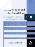 Andrew G. Shead The Open Book and the Sealed Book Jeremiah 32 in its Hebrew and Greek Recensions JSOT Supplement Series 2002.pdf