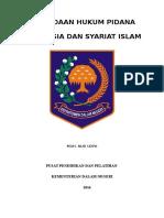 Hukum Islam Dan Indonesia Pidana