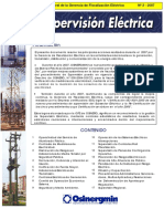 supervisión eléctrica 2007-2