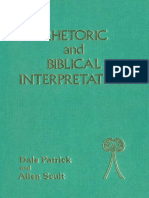 Dale Patrick, Allen Scult Rhetoric and Biblical Interpretation 1990.pdf