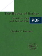 Charles V. Dorothy The Books of Esther Structure, Genre and Textual Intergrity JSOT Supplement 1997.pdf
