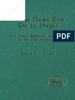 David J. A. Clines What Does Eve Do to Help and Other Readerly Questions to the Old Testament JSOT Supplement  1990.pdf