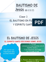 El Bautismo de Jesus III