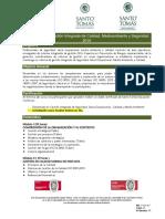 Diplomado en Gestion Integrada de Calidad Medioambiente y Seguridad 2016