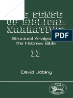 David Jobling The Sense of Biblical Narrative II Structural Analysis in the Hebrew Bible JSOT Supplement Series  1987.pdf