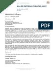 Ley Orgánica de Empresas Públicas LOEP