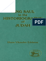 Diana Vikander Edelman King Saul in the Historiography of Judah JSOT Supplement Series 1991.pdf