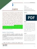 Profiling Questionnaire v17.3