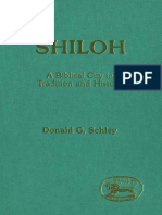 Donald G. Schley Shiloh A Biblical City in Tradition and History JSOT Supplement 1989.pdf