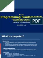 ProgrammingFundamentals_Lecture1