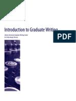 Graduate Writing Guide