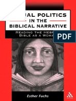 Esther Fuchs Sexual Politics in the Biblical Narrative Reading the Hebrew Bible as a Woman JSOT Supplement Series 2000.pdf