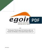 Prontuario Tecnico Paneles Contralaminados Clt