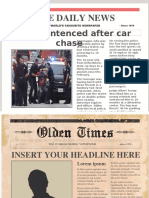 the news story PPT