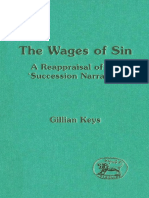 Gillian Keys The Wages of Sin A Reappraisal of the Succession Narrative JSOT Supplement  1996.pdf