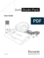 Itrack Dock Studio Pack User Guideen