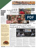 7.Seward County GOP Gives Sneak Peek at 'Hillary's America'.Robert
