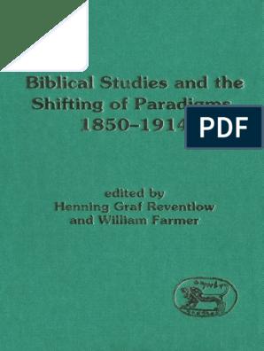 R303244der Weihnachten.Henning Graf Reventlow William Farmer Biblical Studies And