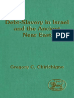 Gregory C. Chirichigno Debt-Slavery in Israel and the Ancient Near East Jsot Supplement Series 1993.pdf