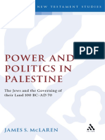 James S. McLaren Power and Politics in Palestine The Jews and the Governing of Their Land, 100 BC-AD 70 1991.pdf