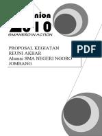 Proposal Reuni 2010