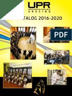UPRA Catalog (2016-2020)