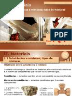 Substâncias e Misturas de Substâncias (FQ7)