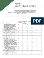 leadership-expert-questionnaire