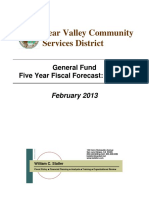 BVCSD Statler Report Final BVCSD Five Year Fiscal Forecast 2-11-13-1