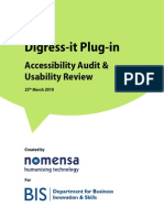 Bis Digress It Plugin Accessibility Audit Report 2010-03-25