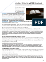coldcasechristianity.com-Why I Know the Gospels Were Written Early FREE Bible Insert.pdf