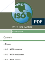 Why ISO 14001