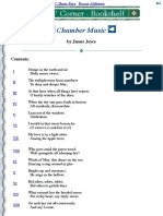 Poets' Corner - James Joyce - Chamber Music
