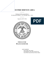 Unified Fire Service Area audit