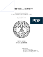Unified Fire Authority audit