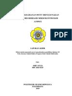 Sistem Keamanan Pintu Berbasis Mikrokontroller AT89S52