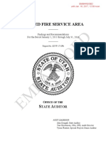 State Auditor Releases Audits of the Unified Fire Authority and the Unified Fire Service Area
