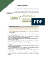 Mercado de Dinero Informe