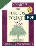 Ben Harris - Purpose Driven Lie