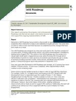 Progress report on Edmonton infill process