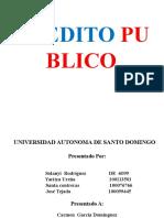 Exposicion de Credito Publico