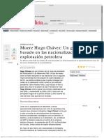 Historia de las nacionalizaciones en Venezuela en el siglo XX